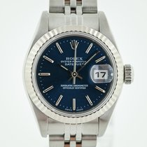 Rolex Oyster Perpetual Lady Date Gold/Steel 26mm Blue No numerals United States of America, California, Pleasant Hill