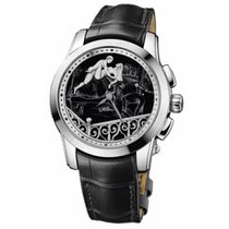 Ulysse Nardin Hourstriker Platinum 43mm Black