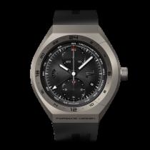 Porsche Design MONOBLOC Actuator GMT-Chronotimer Titanium &...