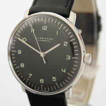 Junghans max bill Automatic Steel 38mm Black Arabic numerals