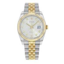 Rolex Datejust 116233 sjdj 18K Yellow Gold & Steel Watch (18212)