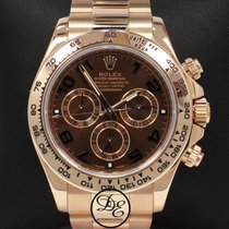 Rolex Daytona Chocolate 116505 18k Rose Gold Cosmograph Oyster...