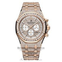 Audemars Piguet Royal Oak Chronograph 41mm Rose Gold Diamonds
