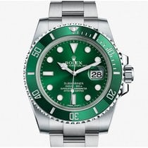 勞力士 116610LV  Rolex Green Submariner Date (Hulk)