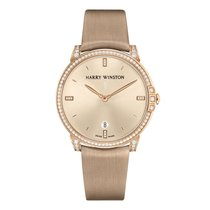 Harry Winston Rose gold Automatic 39mm new Midnight
