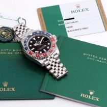 Rolex GMT-Master nuevo 2019 Automático Reloj con estuche y documentos originales 126710BLRO