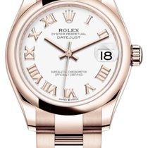 Rolex Datejust Rose gold 31mm White