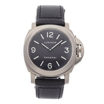 Panerai Luminor Base Titanium 44mm Brown Arabic numerals