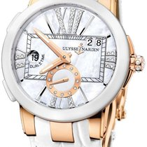 Ulysse Nardin Executive Dual Time Lady 246-10/391 pre-owned