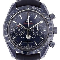 Omega Speedmaster Professional Moonwatch Moonphase Cerámica 44mm Azul