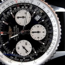 Breitling Navitimer pre-owned 42mm Black Chronograph Date Rubber