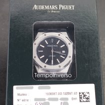Audemars Piguet Royal Oak Selfwinding Steel 39mm Black No numerals United Kingdom, London, Paris, Barcelona & Brussels face to face delivery only - Other countries shipping with Brinks & DHL Express