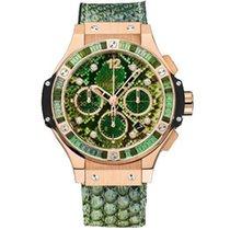 Hublot Big Bang 41 mm Rose gold 41mm Green No numerals
