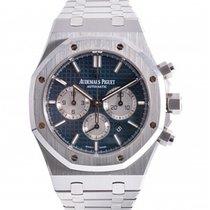 Audemars Piguet Royal Oak Chronograph Steel 41mm Blue No numerals UAE, Dubai