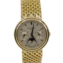 Patek Philippe Perpetual Calendar Yellow gold 36mm Silver United States of America, New York, New York