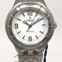 Ebel E-Type Steel 38mm White Arabic numerals