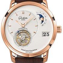 Glashütte Original PanoLunar Tourbillon new Automatic Watch with original box and original papers