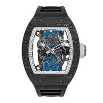 Richard Mille RM055 Bubba Watson  White Legend Titanium Watch