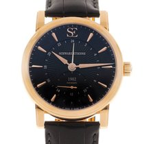 Schwarz Etienne Rose gold 42mm Automatic WRO17MA31RB01AA new