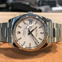 Rolex Date 115200 White Stick 34mm 2011