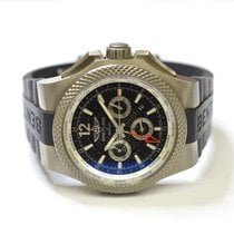 Breitling Bentley GMT Light Body 49mm Titanium Watch on Rubber...