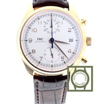 IWC Portugieser Chronograph 18kt Pink Gold Classic Date