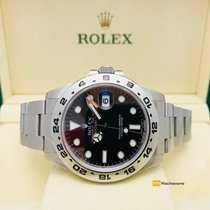 Rolex Explorer II Black Dial. Full. 2015