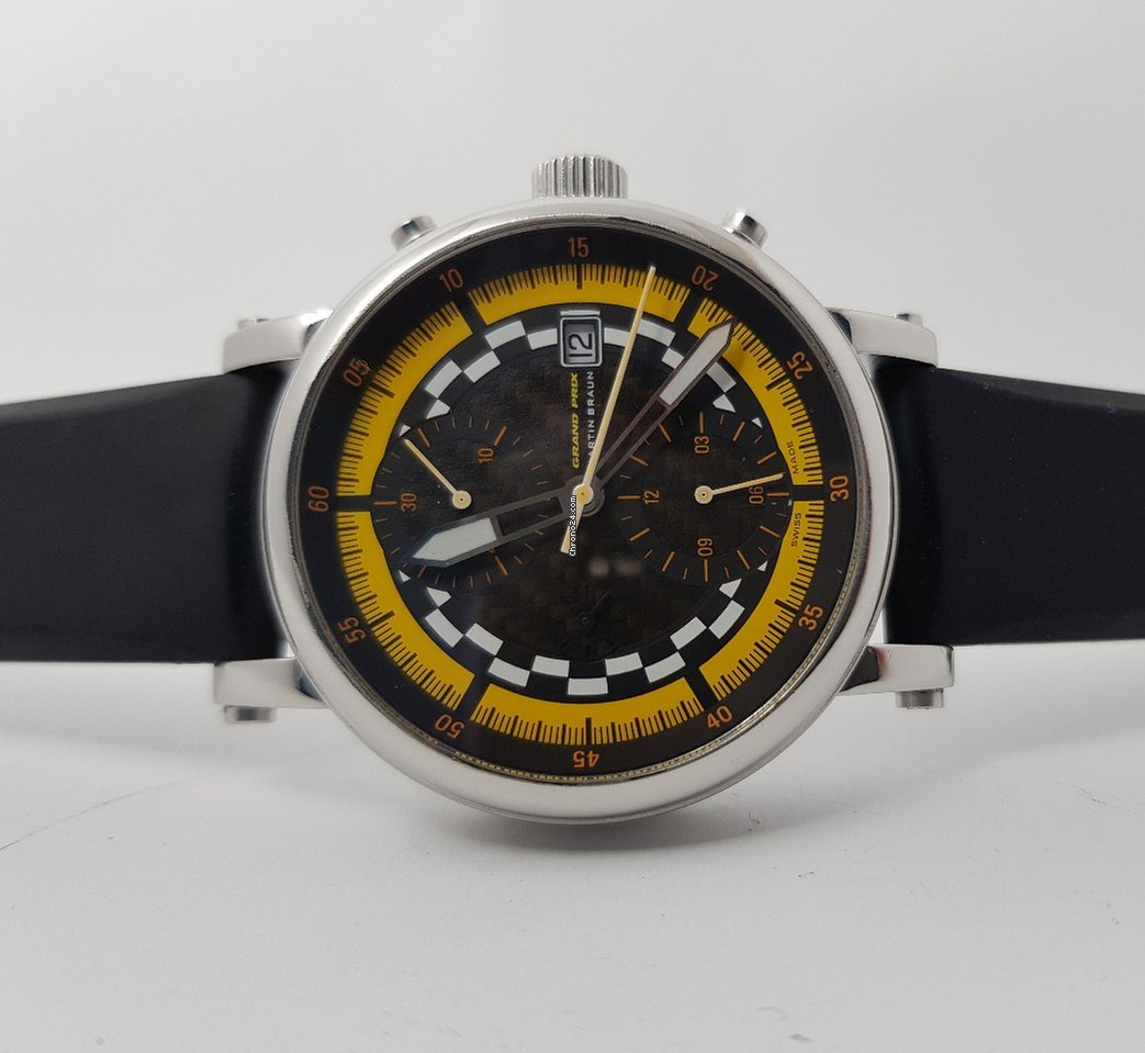 b1527af57 Martin Braun Classic Collection Grand Prix Chronograph II... for $2,400 for  sale from a Trusted Seller on Chrono24