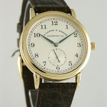 A. Lange & Söhne 36mm Χειροκίνητη εκκαθάριση 1995 μεταχειρισμένο 1815 Ασημί