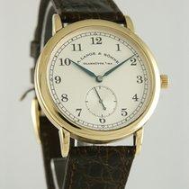A. Lange & Söhne 36mm Elle kurmalı 1995 ikinci el 1815 Gümüş