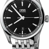 Oris Artix Date Steel 42mm Black No numerals United States of America, New York, New York City