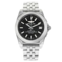 Breitling Galactic 36 Steel 36mm Black No numerals United States of America, New York, NYC