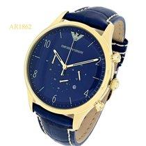 Armani Chronograph 43mm Quartz new Blue