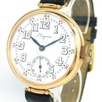 Longines Red gold Manual winding White 38mm pre-owned