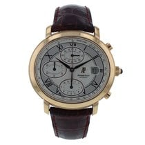 Audemars Piguet Millenary Chronograph Rose gold 40.5mm Silver