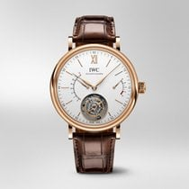 IWC Portofino Hand-Wound Rose gold 45mm Silver United States of America, Florida, Miami