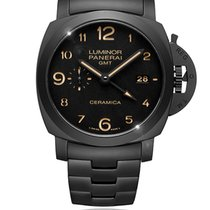 Panerai Luminor 1950 3 Days GMT Automatic Ceramic 44mm Black Arabic numerals South Africa, Johannesburg