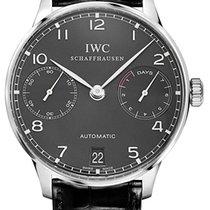IWC White gold Automatic Grey Arabic numerals 42.3mm new Portuguese Automatic