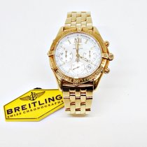 Breitling Yellow gold Quartz Mother of pearl No numerals 38 MMmm pre-owned