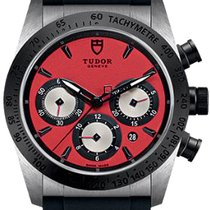Tudor Fastrider Chrono Steel 42mm Red United States of America, California, Moorpark