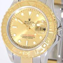 Rolex Yacht-Master Gold/Stahl 29mm Champagnerfarben Keine Ziffern Deutschland, Mannheim