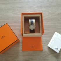 Hermès Stahl 25mm Quarz 2406929 gebraucht Schweiz, Vacallo