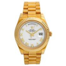 Rolex Day-Date II Yellow gold 41mm White Roman numerals United States of America, Texas, Dallas