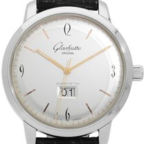 Glashütte Original Sixties Panorama Date 39-47-01-02-04 2014 pre-owned