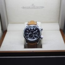 Jaeger-LeCoultre Master Compressor Geographic Acero 41mm Negro Árabes