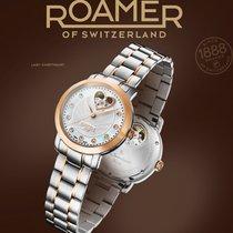 Roamer Acero 34mm Automático 556661 49 69 05 nuevo