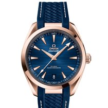 Omega Seamaster Aqua Terra Rose gold 41mm Blue United States of America, Florida, Sunny Isles Beach