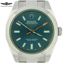 Rolex Milgauss Steel 40mm Blue No numerals United States of America, Georgia, Atlanta