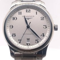 Longines Master Collection Steel 38.5mm Silver Arabic numerals United States of America, Florida, Miami