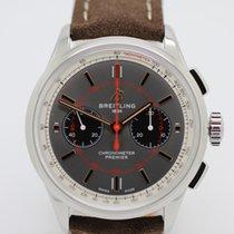 Breitling Stahl 42mm Grau
